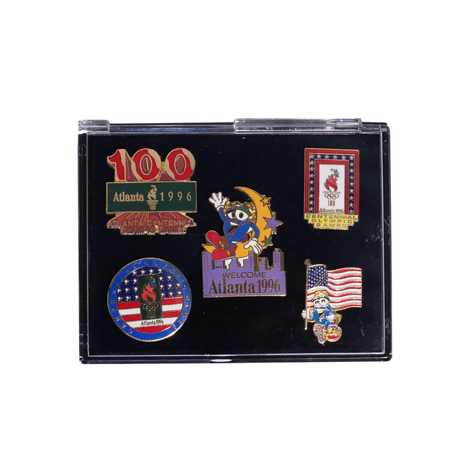 Atlanta USA Olympics 1996 5 Pin Set