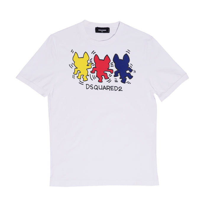 Dsquared2 X Keith Haring Shirt