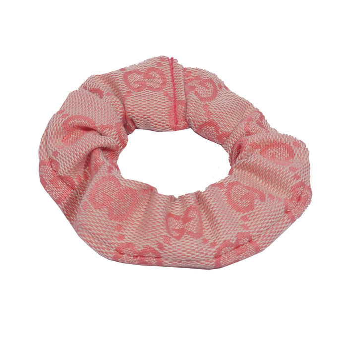 Gucci Hair Scrunchie - Pink