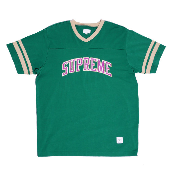 Supreme Glitter Arc Football Top
