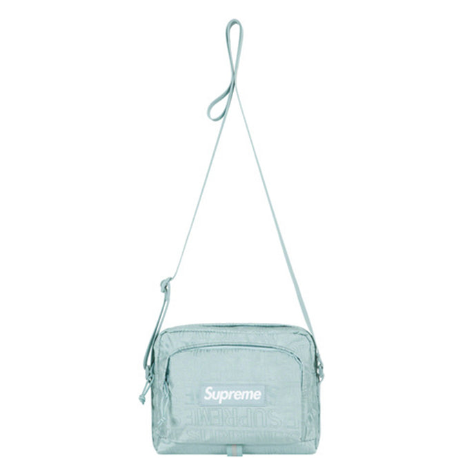 Supreme SS19 Ice Blue Shoulder Bag