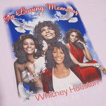 Load image into Gallery viewer, Whitney Houston Memorial Shirt
