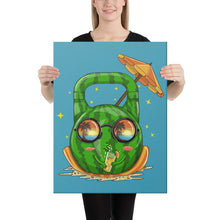 Load image into Gallery viewer, kettlebell-junkie - Watermelon Kettlebell Canvas - Kettlebell Junkie -