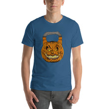 Load image into Gallery viewer, Pumpkin Kettlebell T-Shirt
