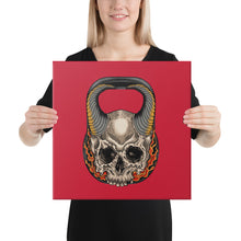 Load image into Gallery viewer, kettlebell-junkie - Hell Bell Canvas - Kettlebell Junkie -