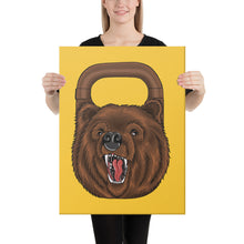 Carica l'immagine nel visualizzatore di Gallery, kettlebell-junkie - Kettlebear Canvas - Kettlebell Junkie -