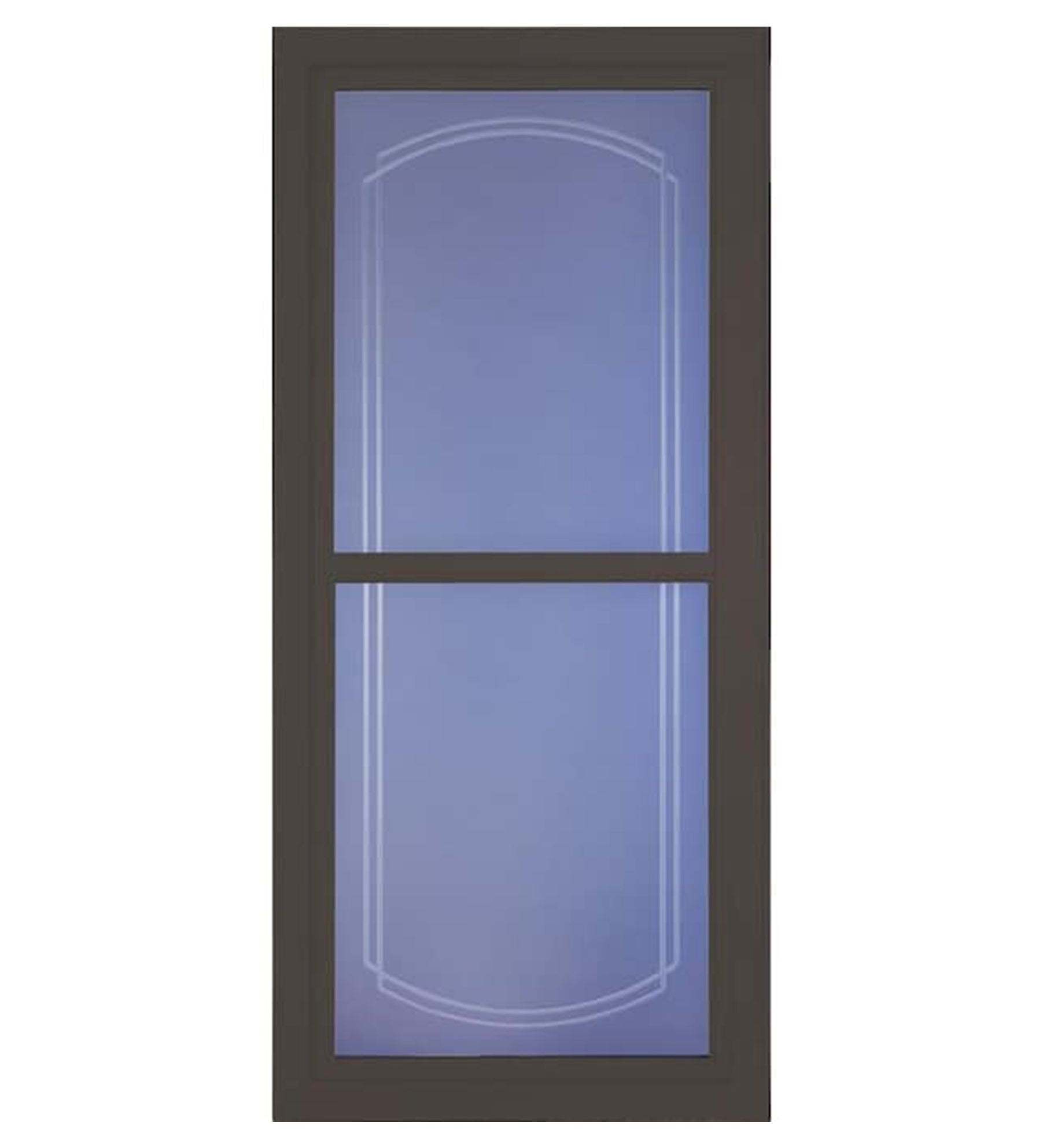 INSTALLED Larson Easy Vent Glass Design Double Bevel Full View Storm Door w/ Hardware         STARTING $769.99