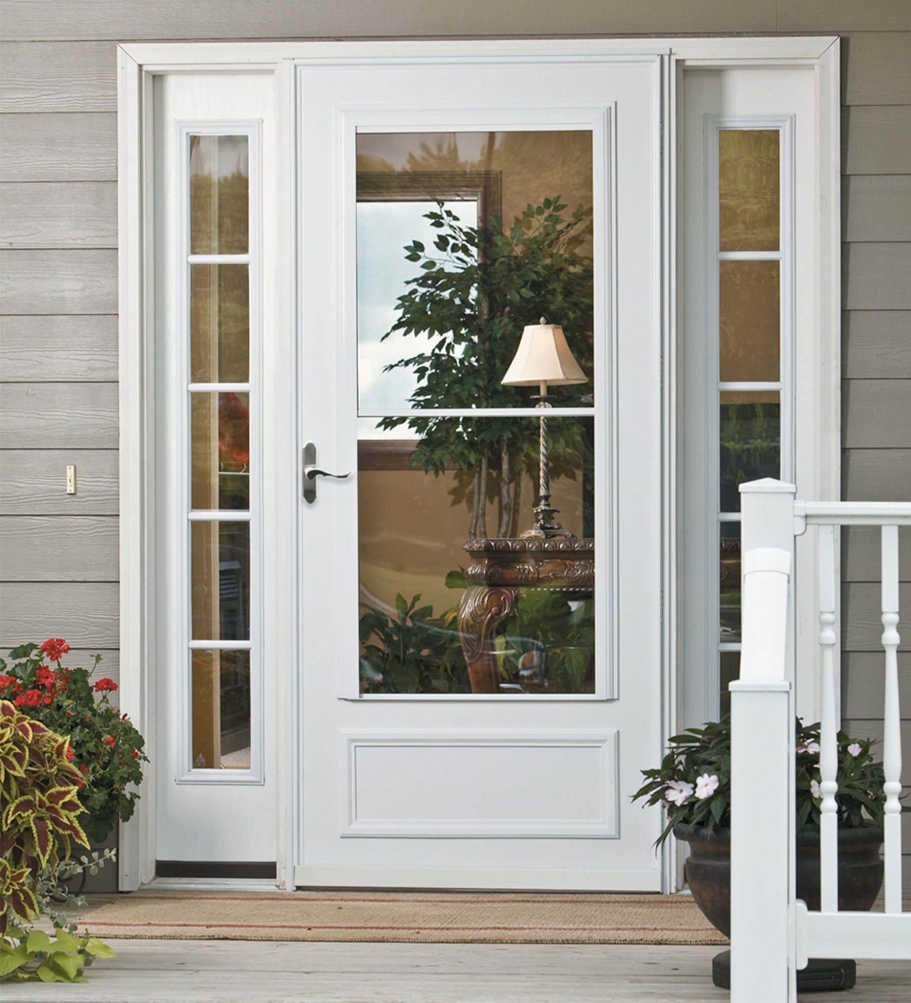 INSTALLED Larson Easy Vent Midview Storm Door w/ Hardware STARTING $720.99