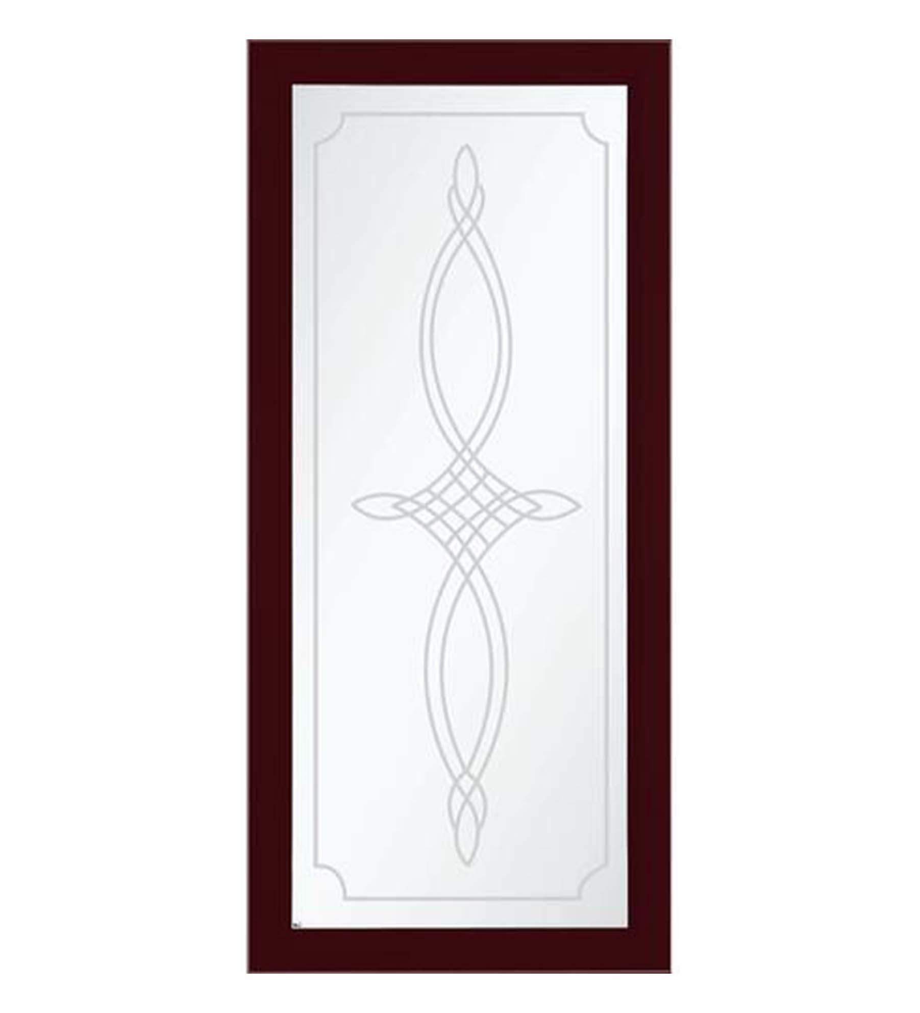 INSTALLED Larson Elegant Bevel Glass Design Full View Storm Door w/ Hardware        STARTING 659.99