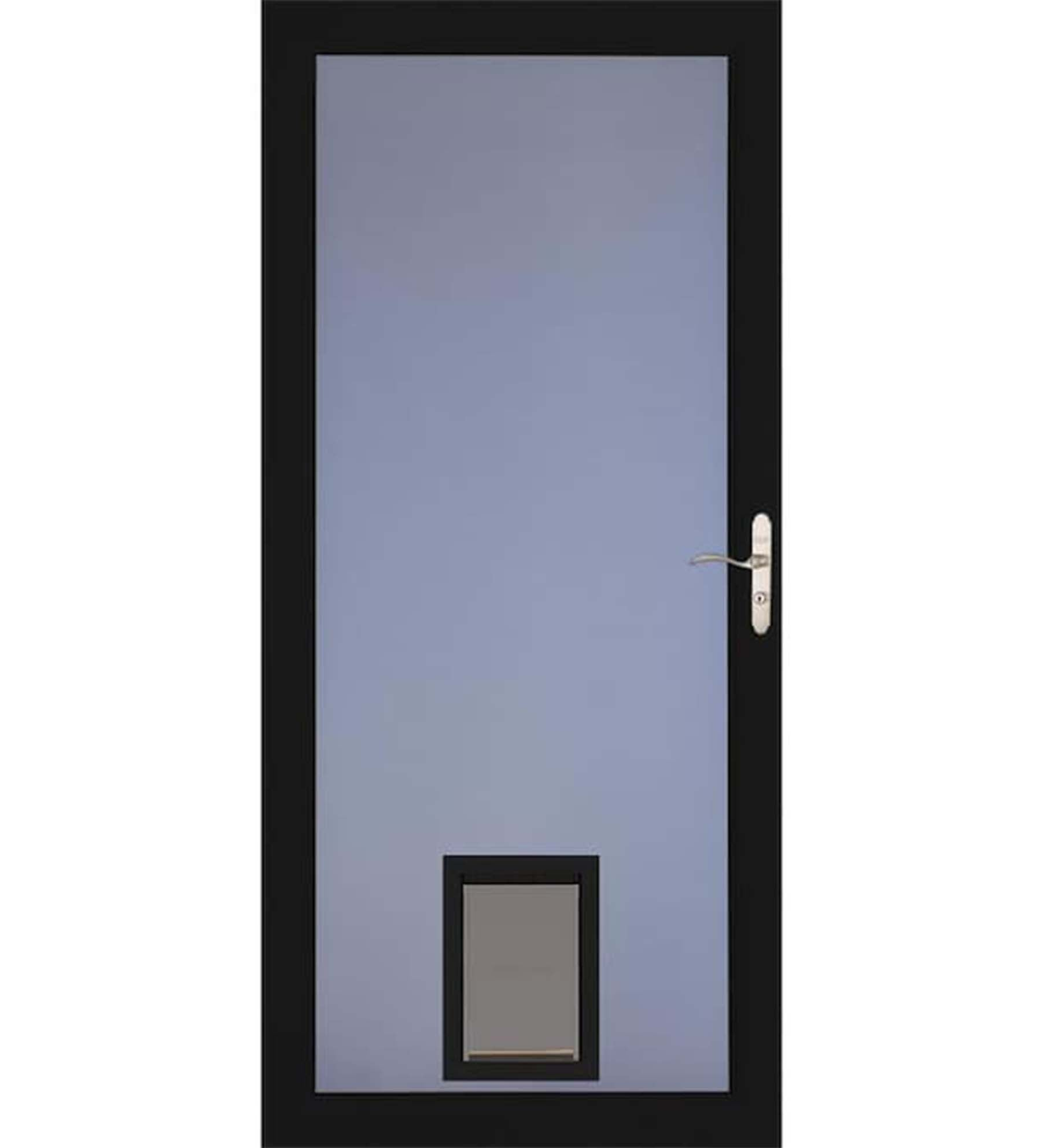 INSTALLED Larson Elegant Selection Pet Dog Storm Door w/ Hardware         STARTING $683