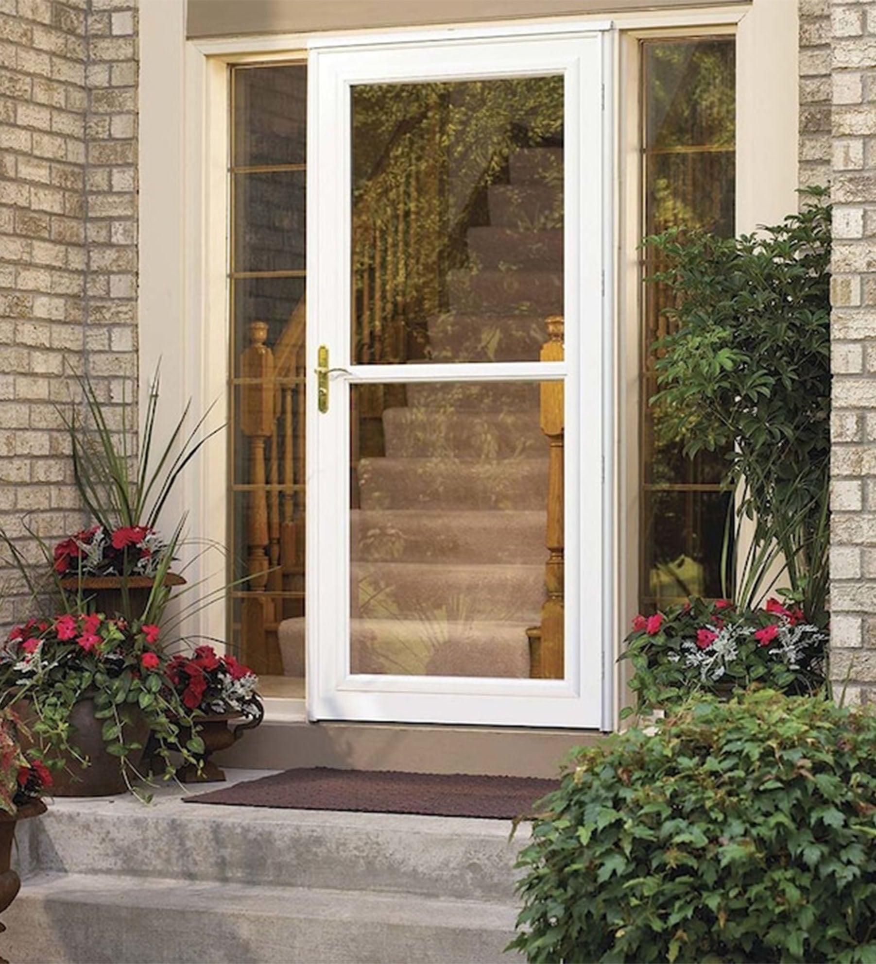 INSTALLED Larson Life Style Full-View Storm Door w/ Hardware STARTING $562.99