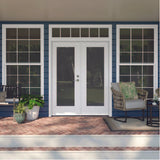 INSTALLED Jeld-Wen Glass White Primed Steel Double French Door STARTING $1061
