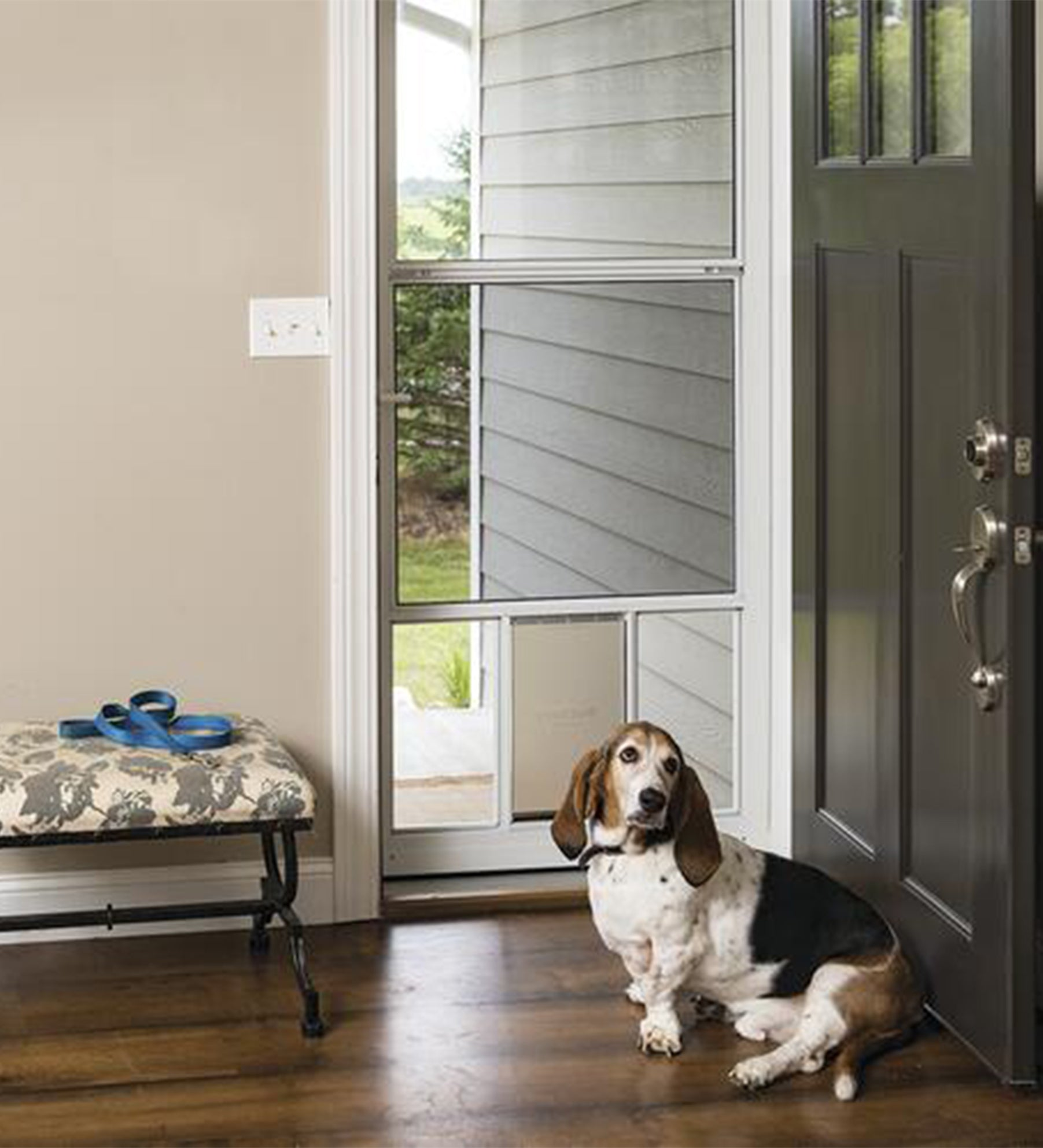 INSTALLED Larson Classic-View Pet Storm Door w/ Hardware STARTING $620.99