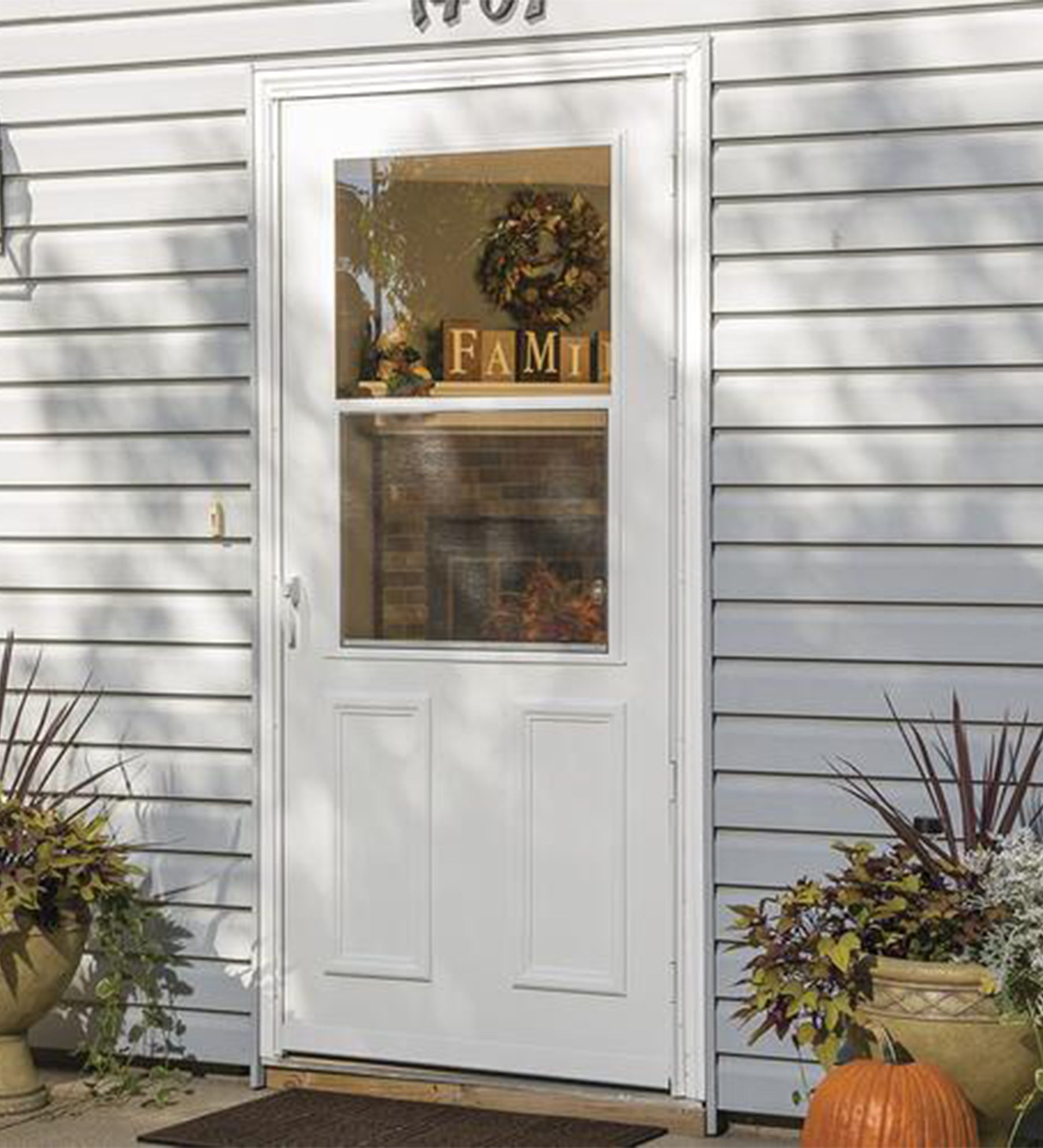 INSTALLED Larson Life Style High-View Storm Door w/ Hardware STARTING $545.99