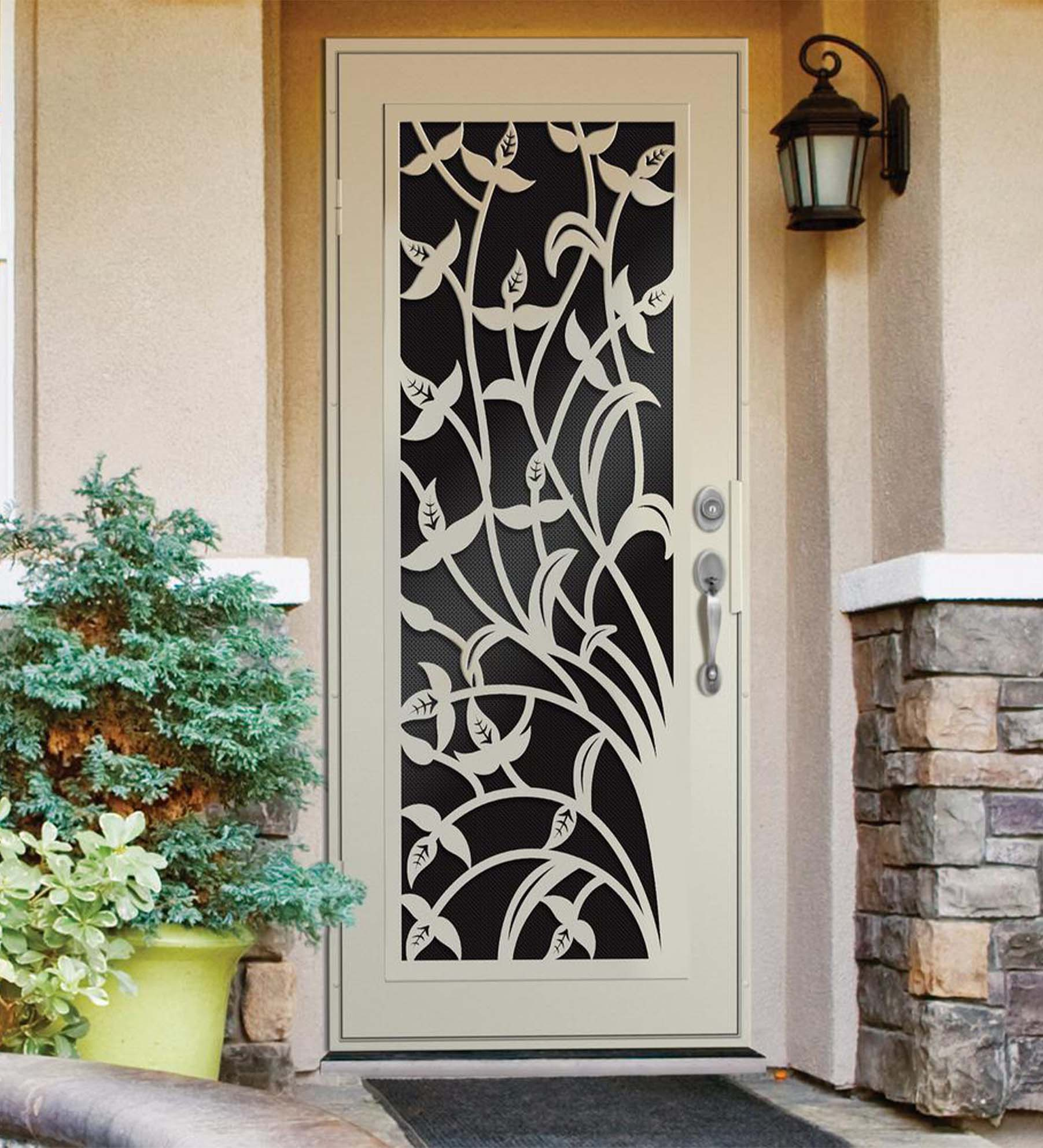 INSTALLED Titan Premium Aluminum Security Single Door Yale        STARTING $1,110