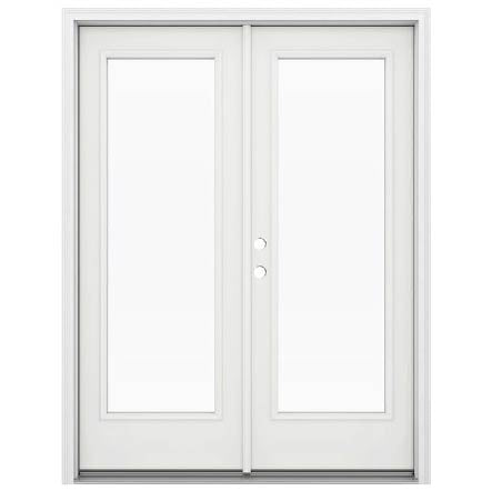 INSTALLED Jeld-Wen with Low -E Glass Steel Double French Door STARTING $1397