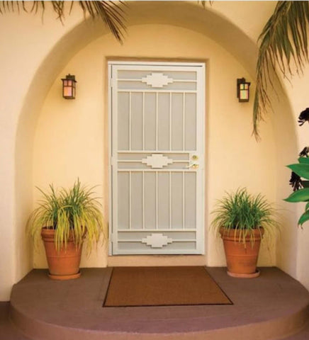 INSTALLED Gatehouse Cherokee Steel Surface Mount Single Security Door   $500