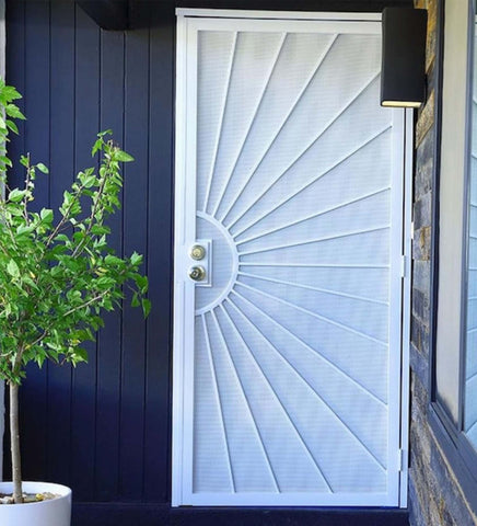 INSTALLED Gatehouse Sunset Single Security Door