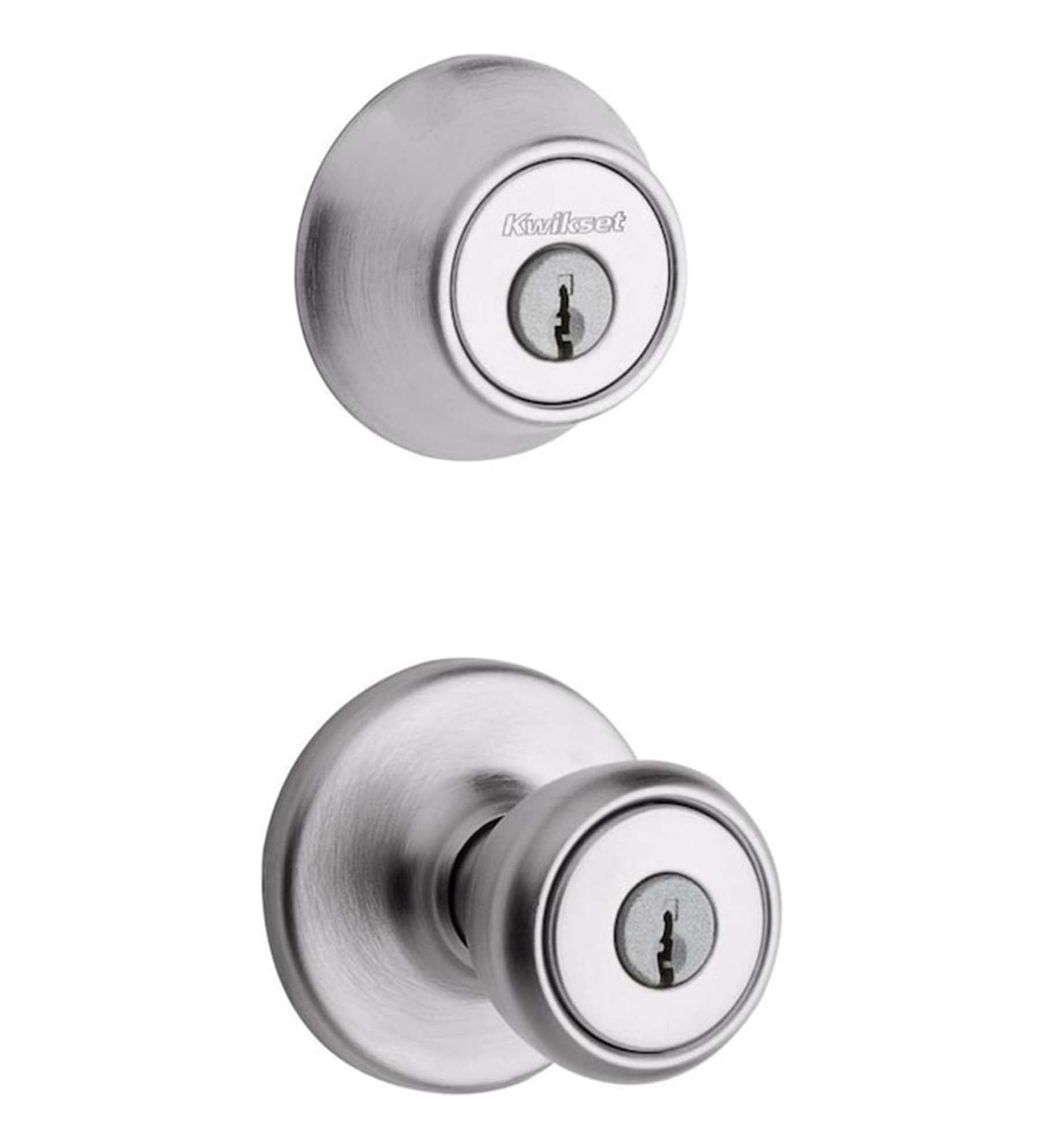 Kwikset Tylo Double-cylinder Deadbolt Keyed Entry Door Knob