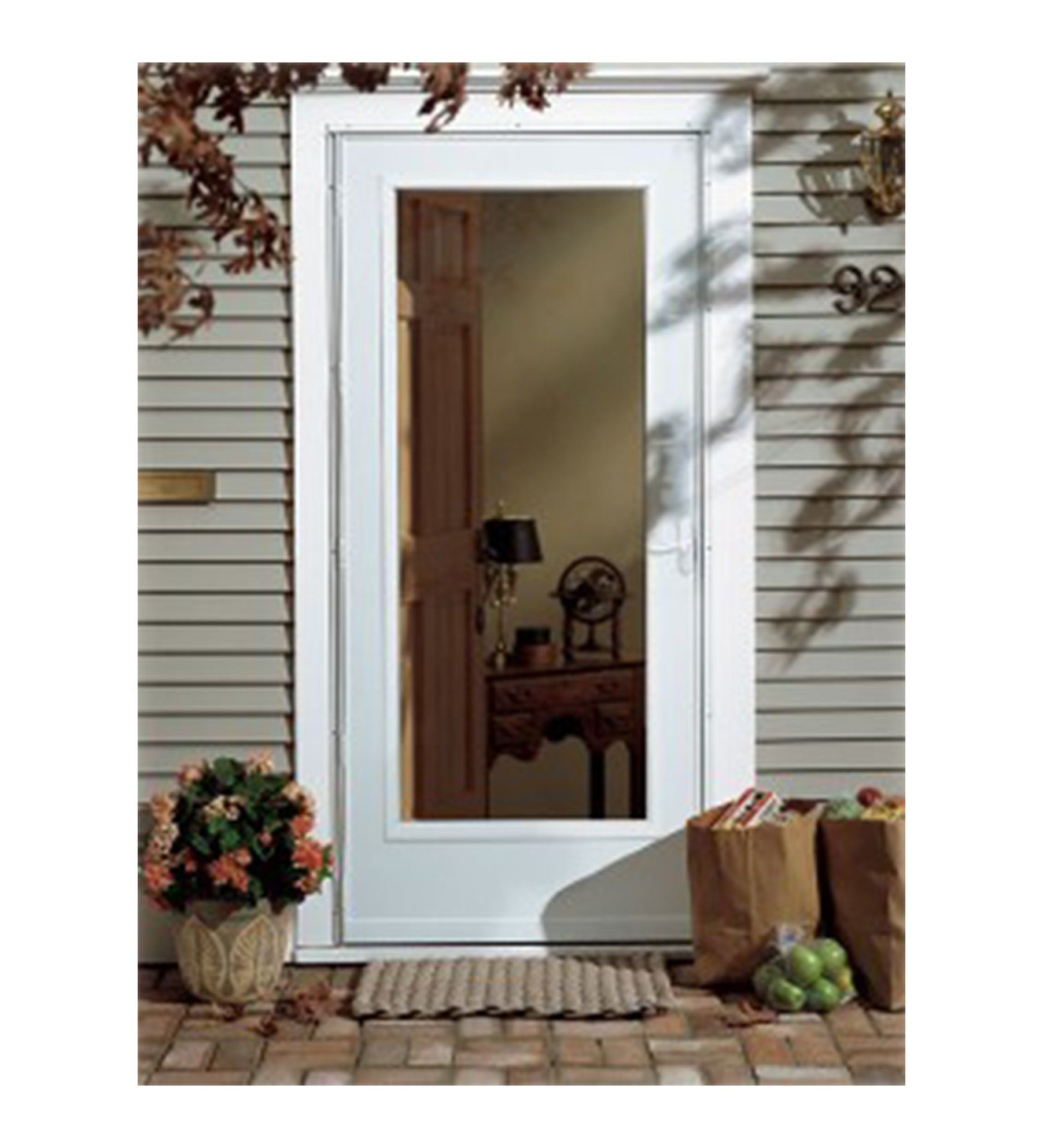 INSTALLED Larson Life-Core Strom Door w/ Hardware         STARTING $572.99