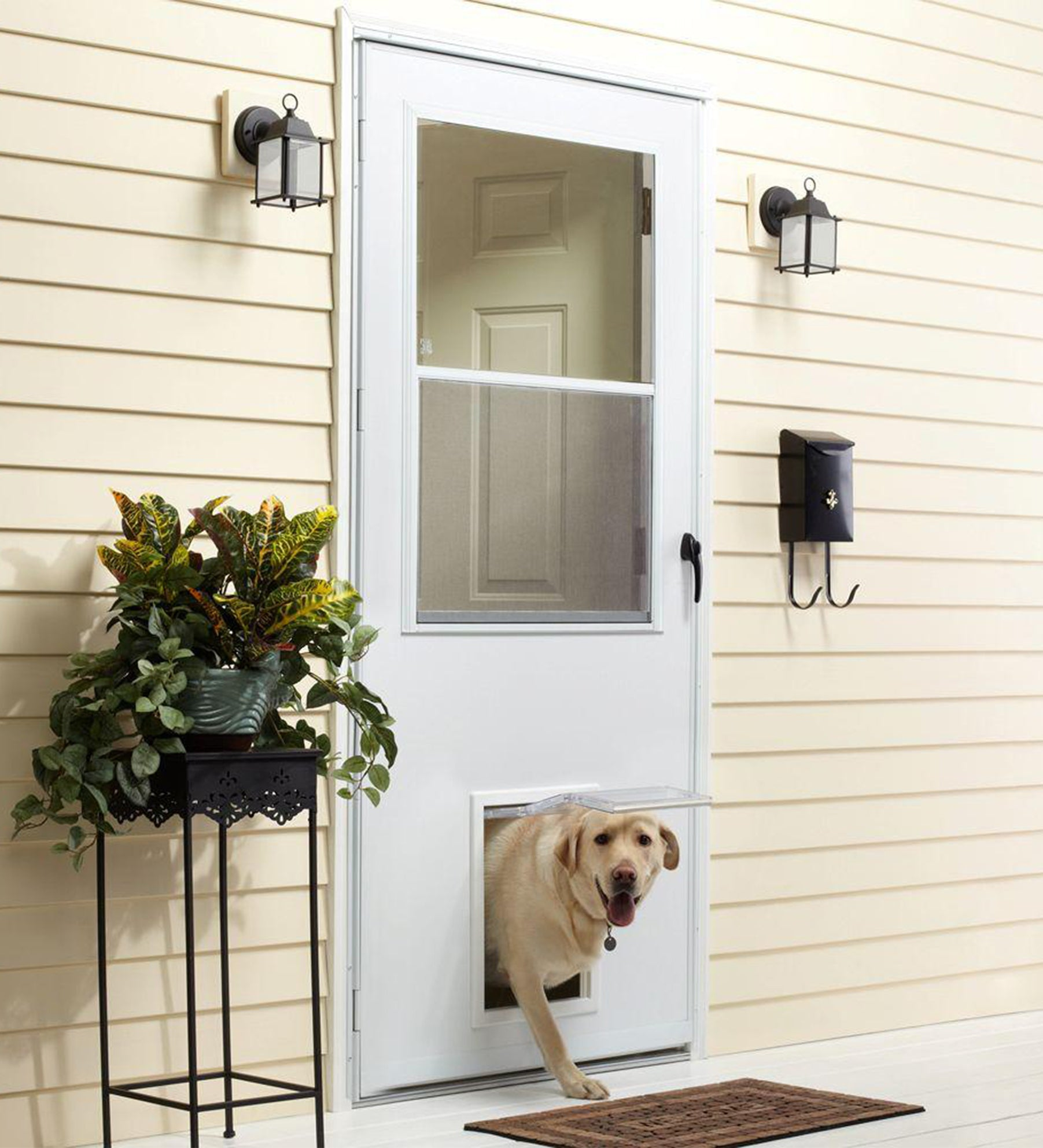 INSTALLED Larson Life-Core Pet Door Storm Door w/ Hardware STARTING $485