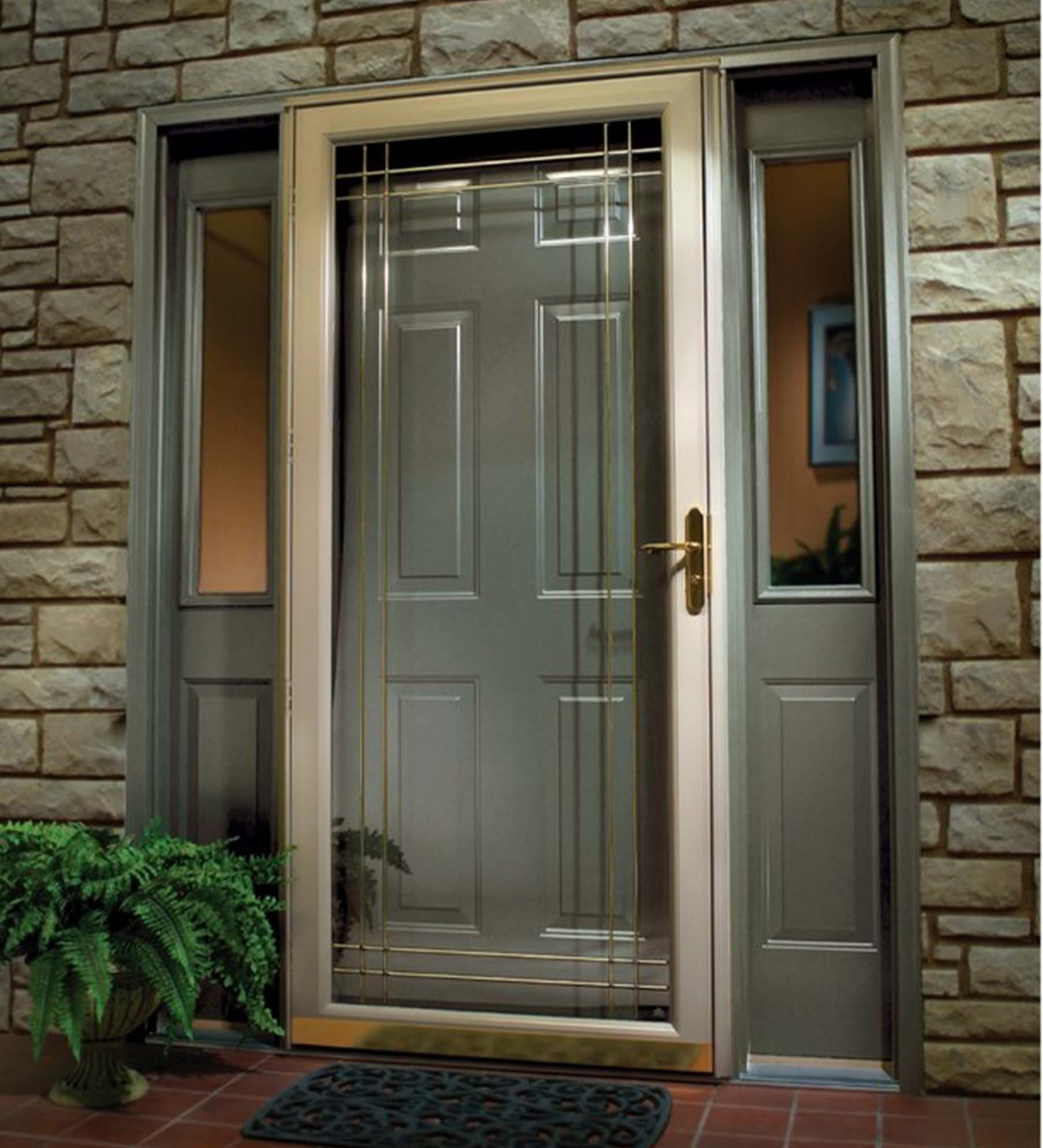 INSTALLED Larson Full View Glass Design Storm Door w/ Hardware STARTING      $440