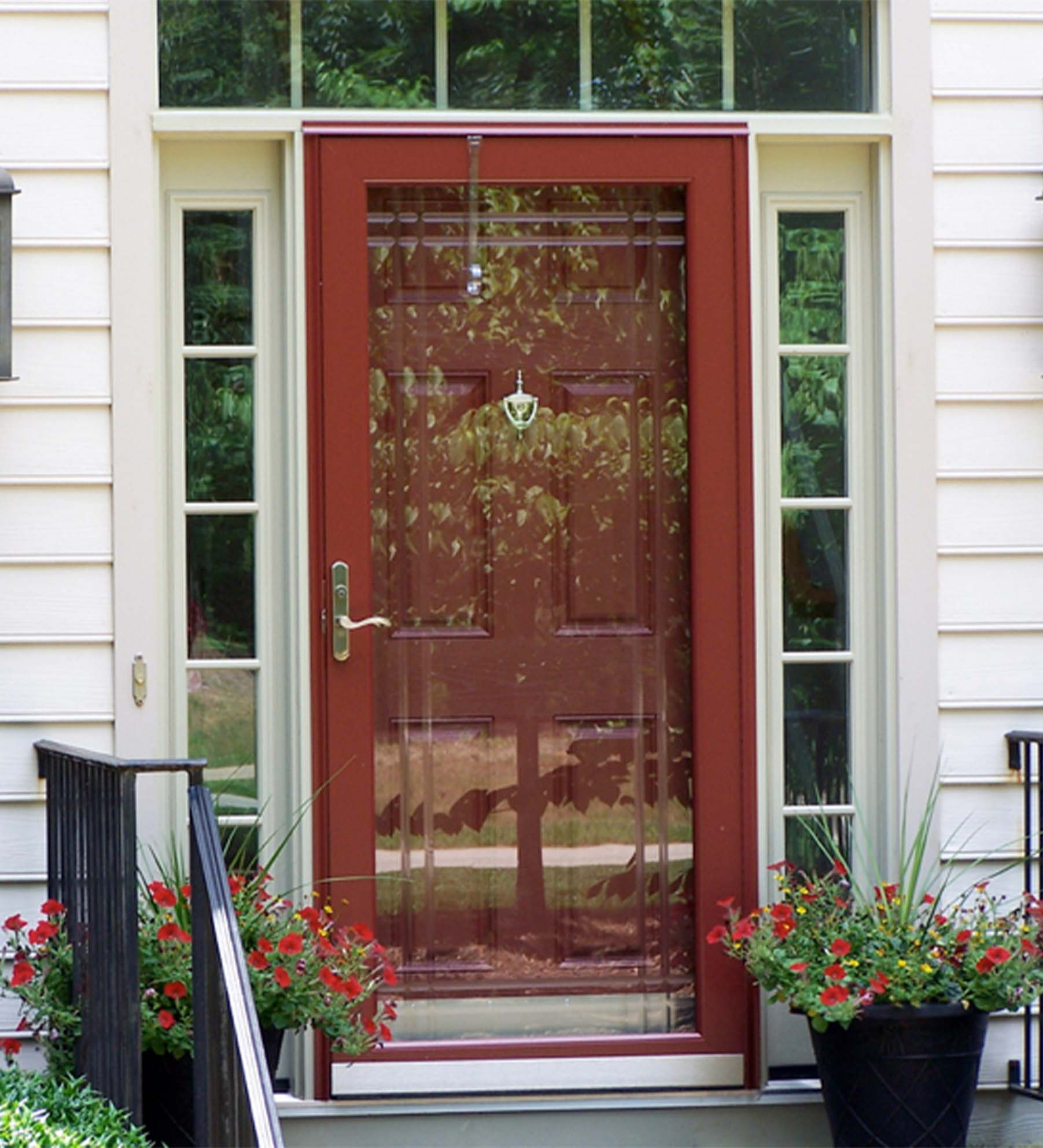 INSTALLED Larson Elegant Selection XTR Storm Door w/ Hidden Closer & Hardware     STARTING $585