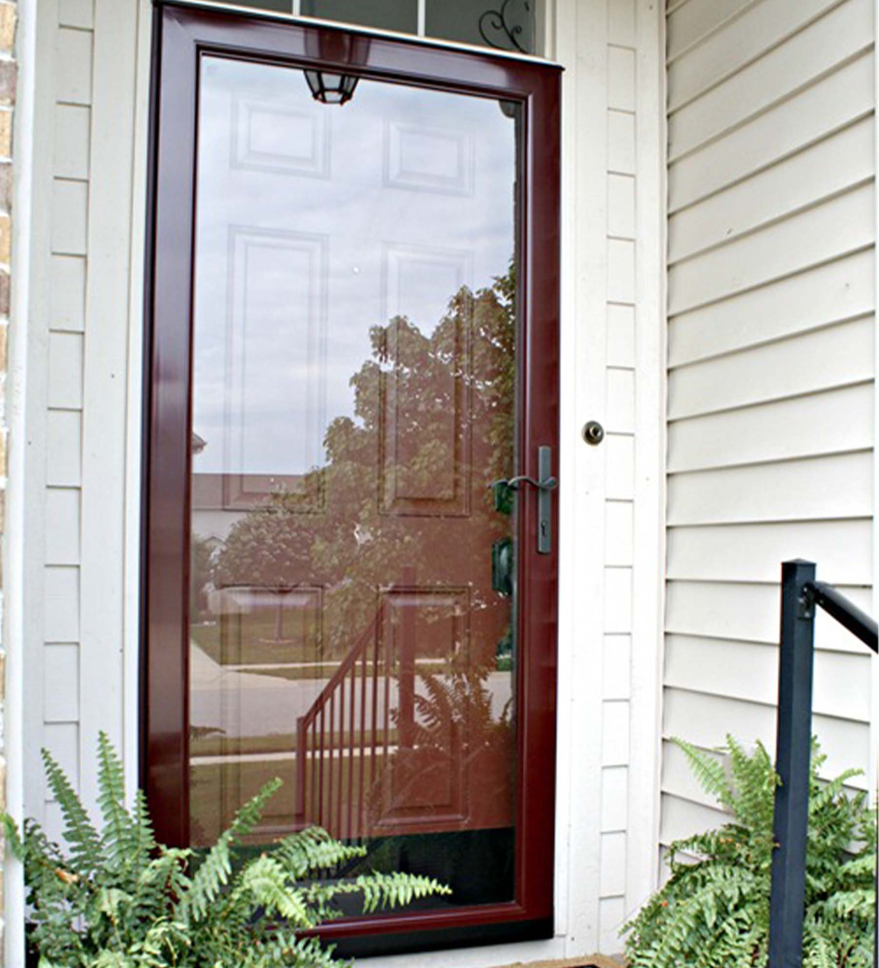 INSTALLED Larson Elegant Selection Full View Storm Door w/ Hardware       STARTING $577.99