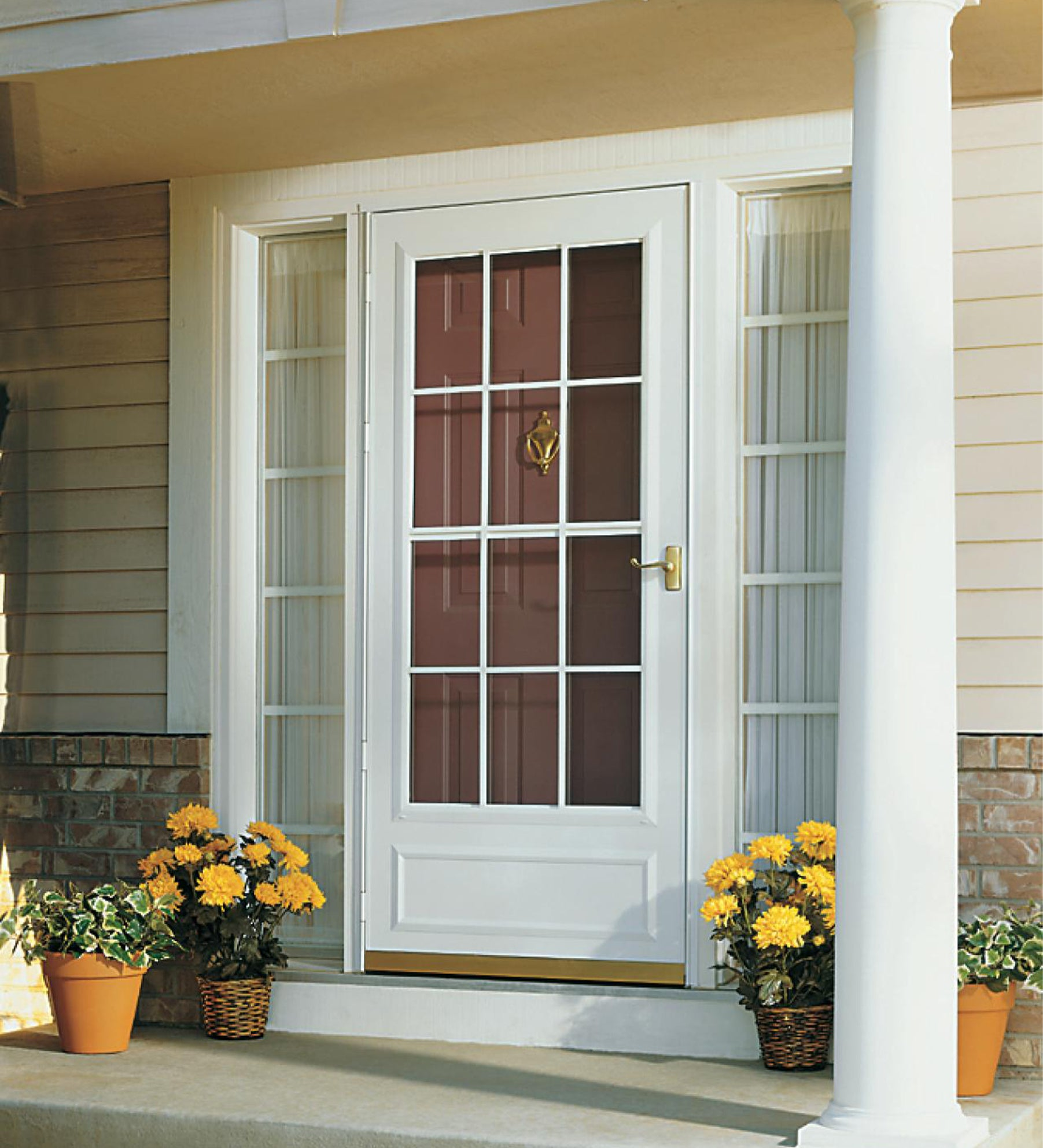 INSTALLED Larson Life Style Reversa Screen Storm Door w/ Hardware STARTING $589.99