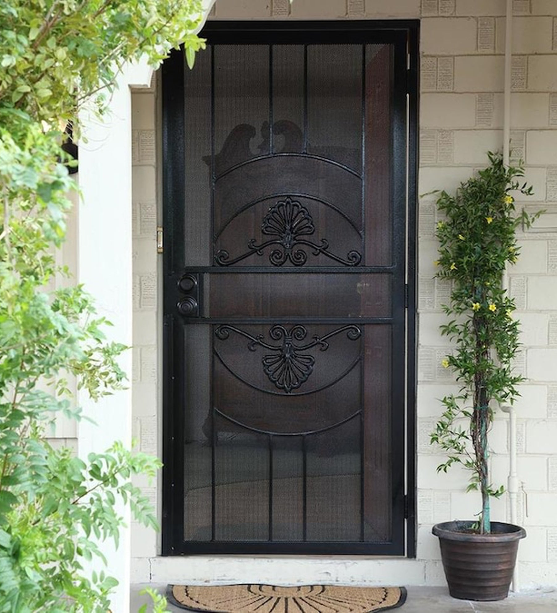 INSTALLED Gatehouse Alexandria Steel Single Door STARTING $500