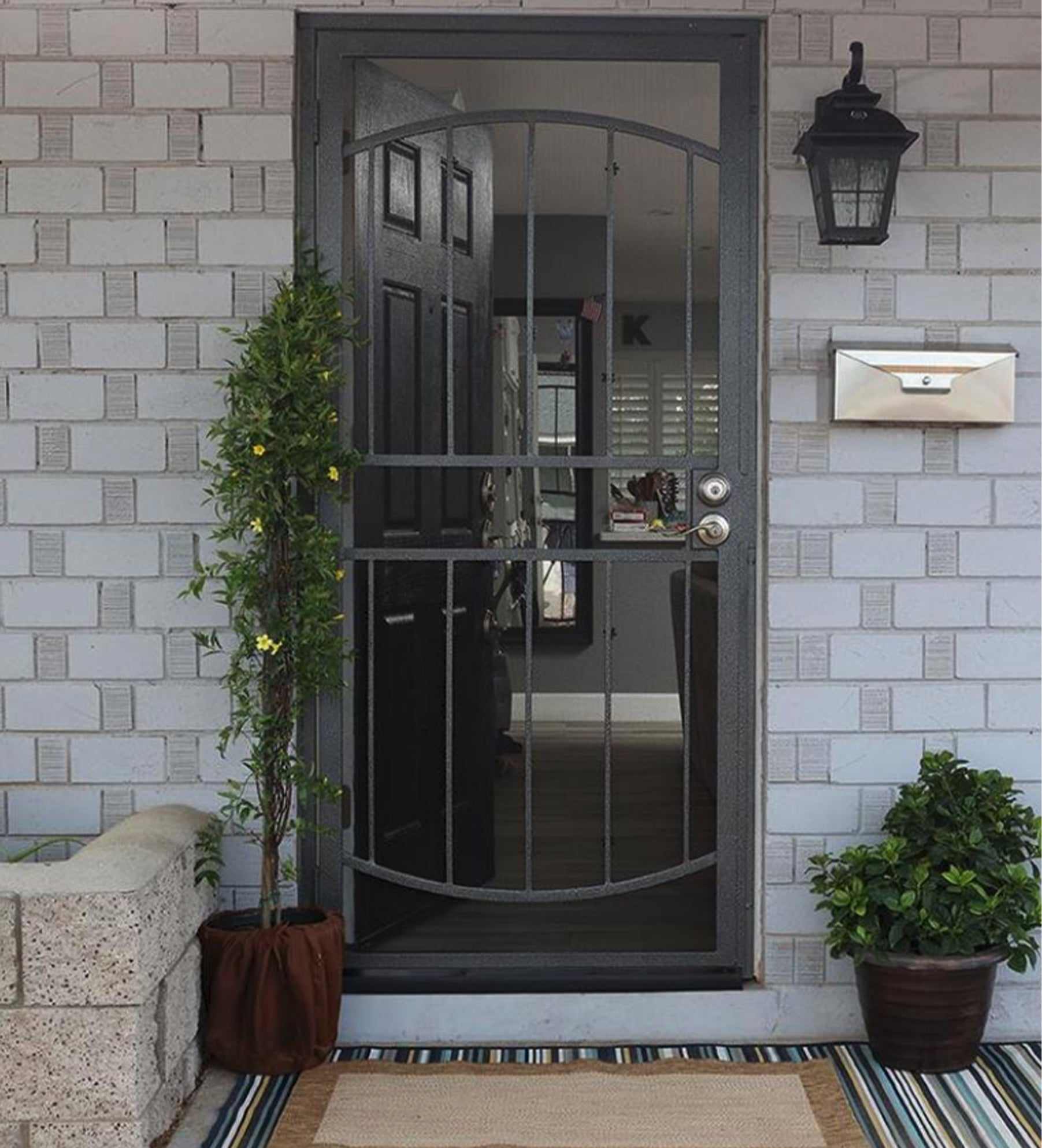 INSTALLED Gatehouse Gibraltar Steel Surface Mount Single Security Door  STARTING $500
