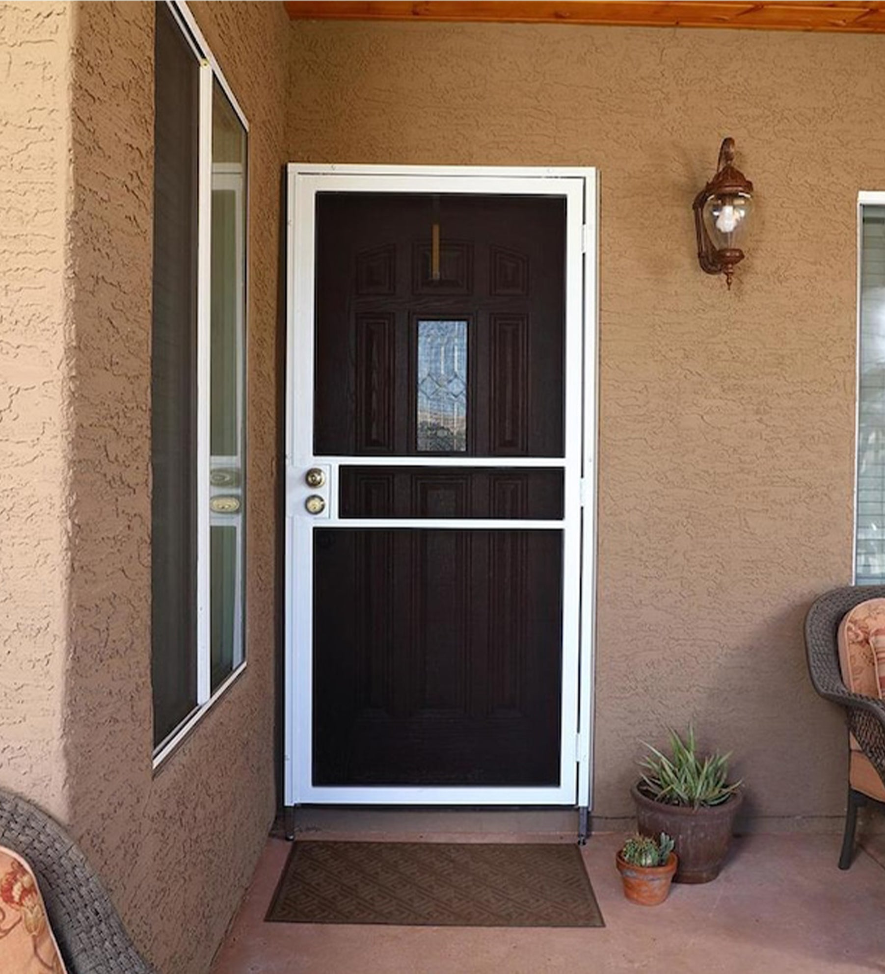 INSTALLED Gatehouse Pasadena Steel Surface Mount Single Security Door. STARTING $570
