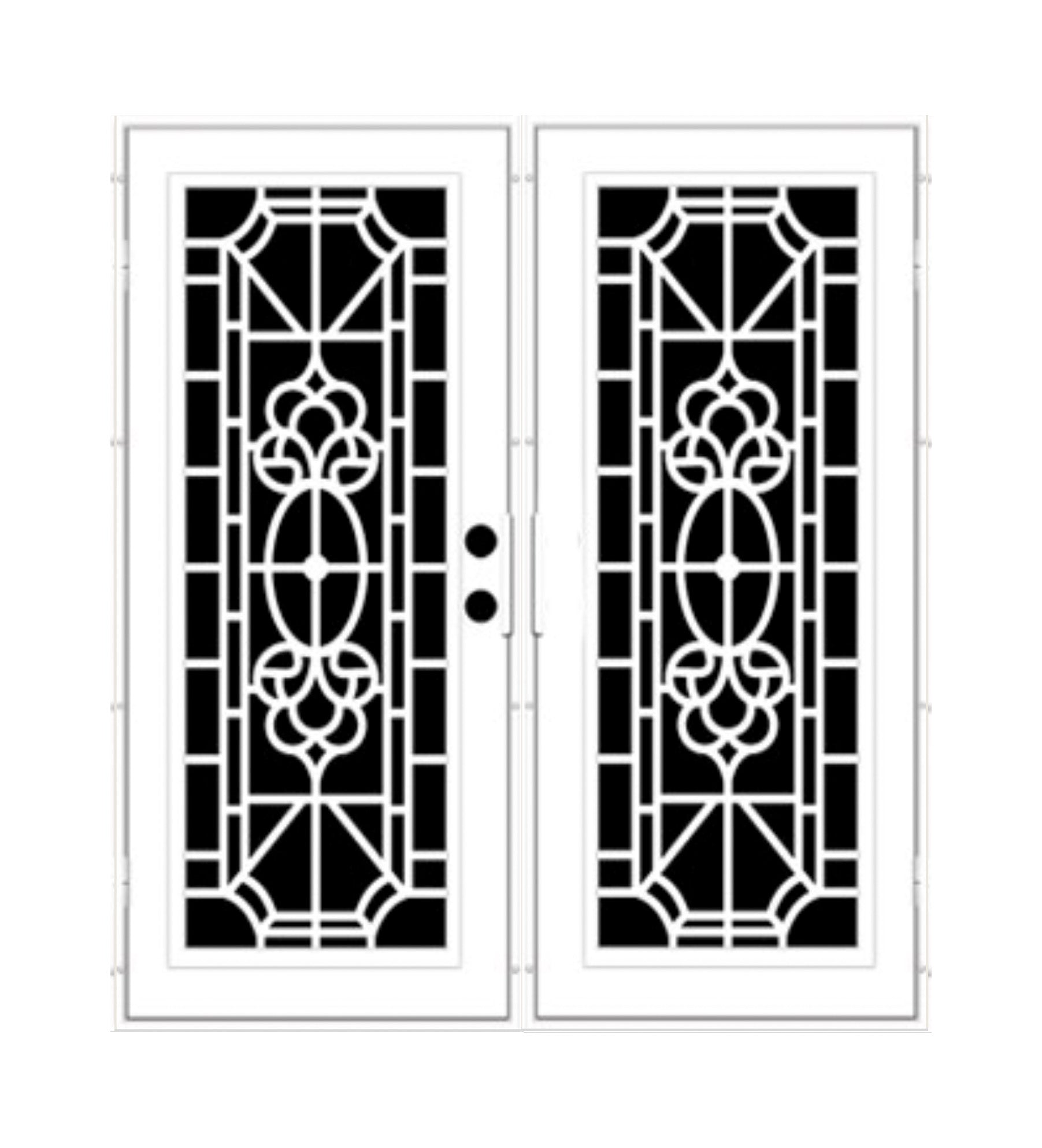 INSTALLED Titan Premium Aluminum Security Screen Double Door Biltmore      STARTING $2,341
