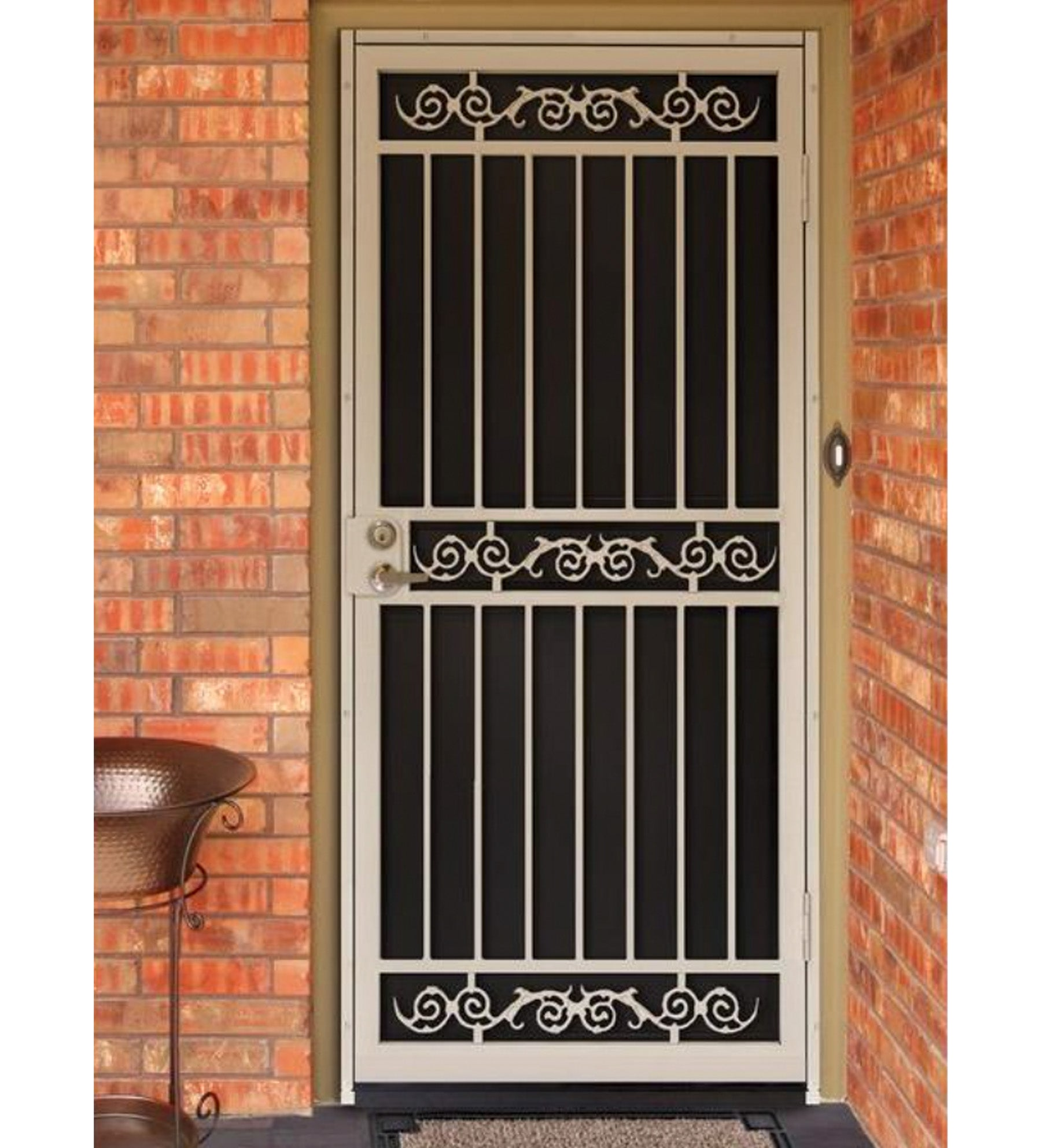 INSTALLED Titan Premium Steel Security Single Door Sylvan