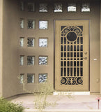 INSTALLED Titan Premium Aluminum Security Screen Single Door Spaniard       STARTING $1,110