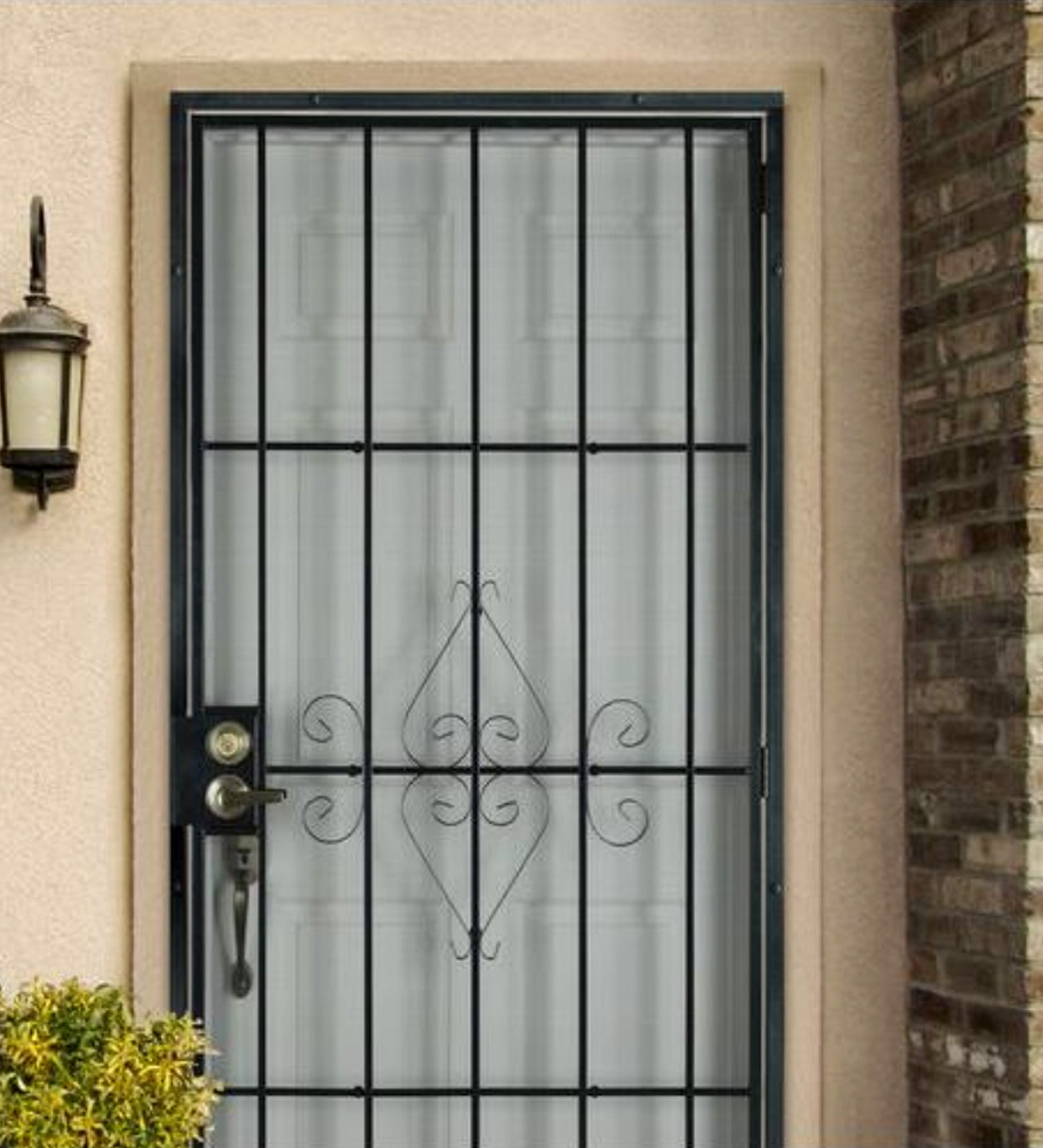 INSTALLED Steel Security Single Door Su Casa