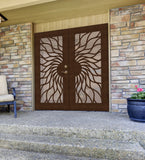INSTALLED Titan Premium Aluminum Security Screen Double Door Sunfire      STARTING $2,376