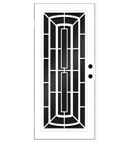 INSTALLED Titan Premium Aluminum Security Screen Single Door Windfall        STARTING $1,110