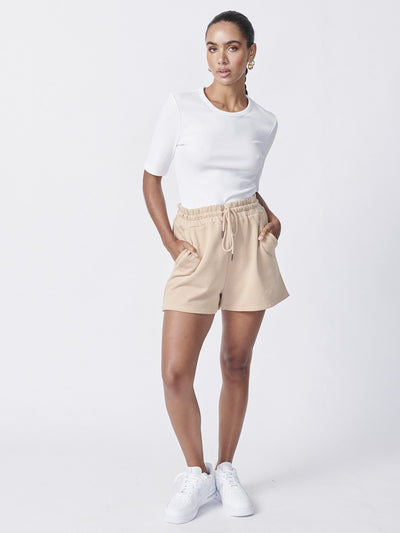 Ena Pelly Essential Track Short Latte