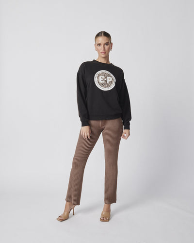 Ena Pelly Snake Stamp Sweatshirt