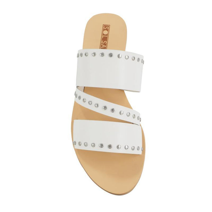 Solsana Betty Slide in White