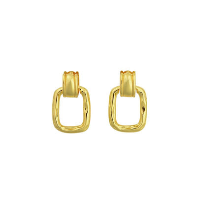 Brie Leon Clásica Earrings Gold