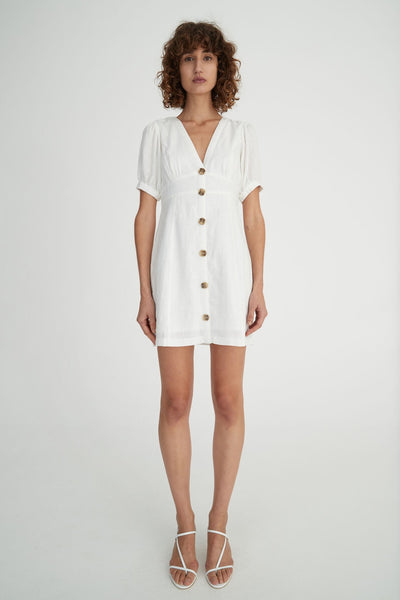 Hansen & Gretel Theodore Dress in White
