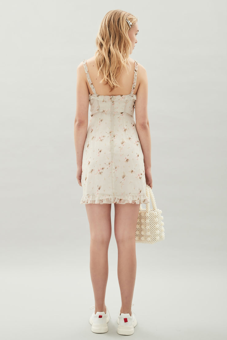 Hansen & Gretel Lea Silk Dress in Madonna Print