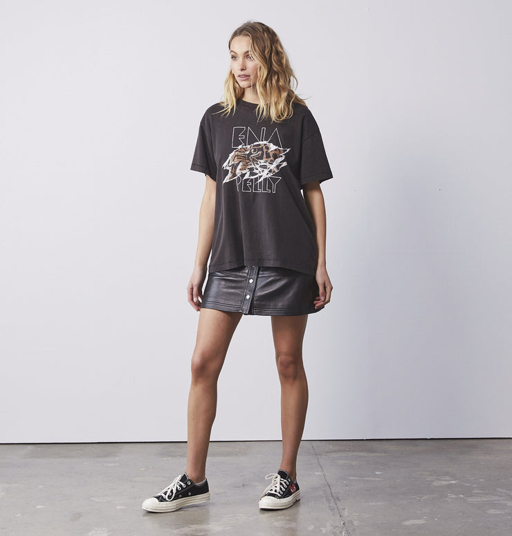 Ena Pelly Tigers Eye Tee Black