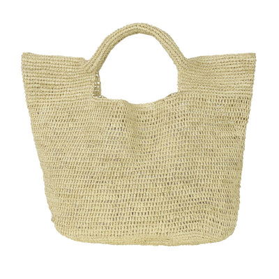 Raffia Beach Bag Natural