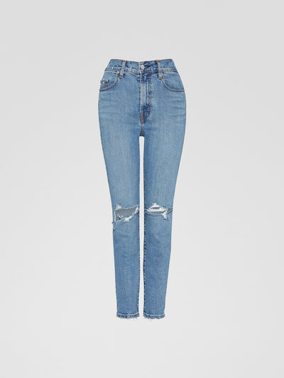 Nobody Denim Frankie Jean Ankle Stretch in Alto