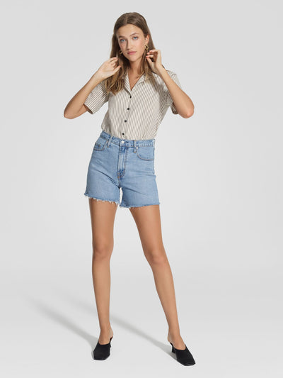 Nobody Denim Frankie Short Stretch