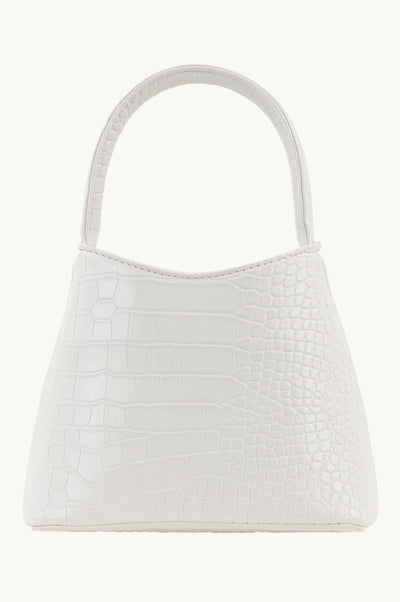 Brie Leon Mini Chloe Bag White