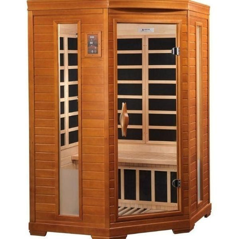 2 Person Dynamic Infrared Sauna Front View